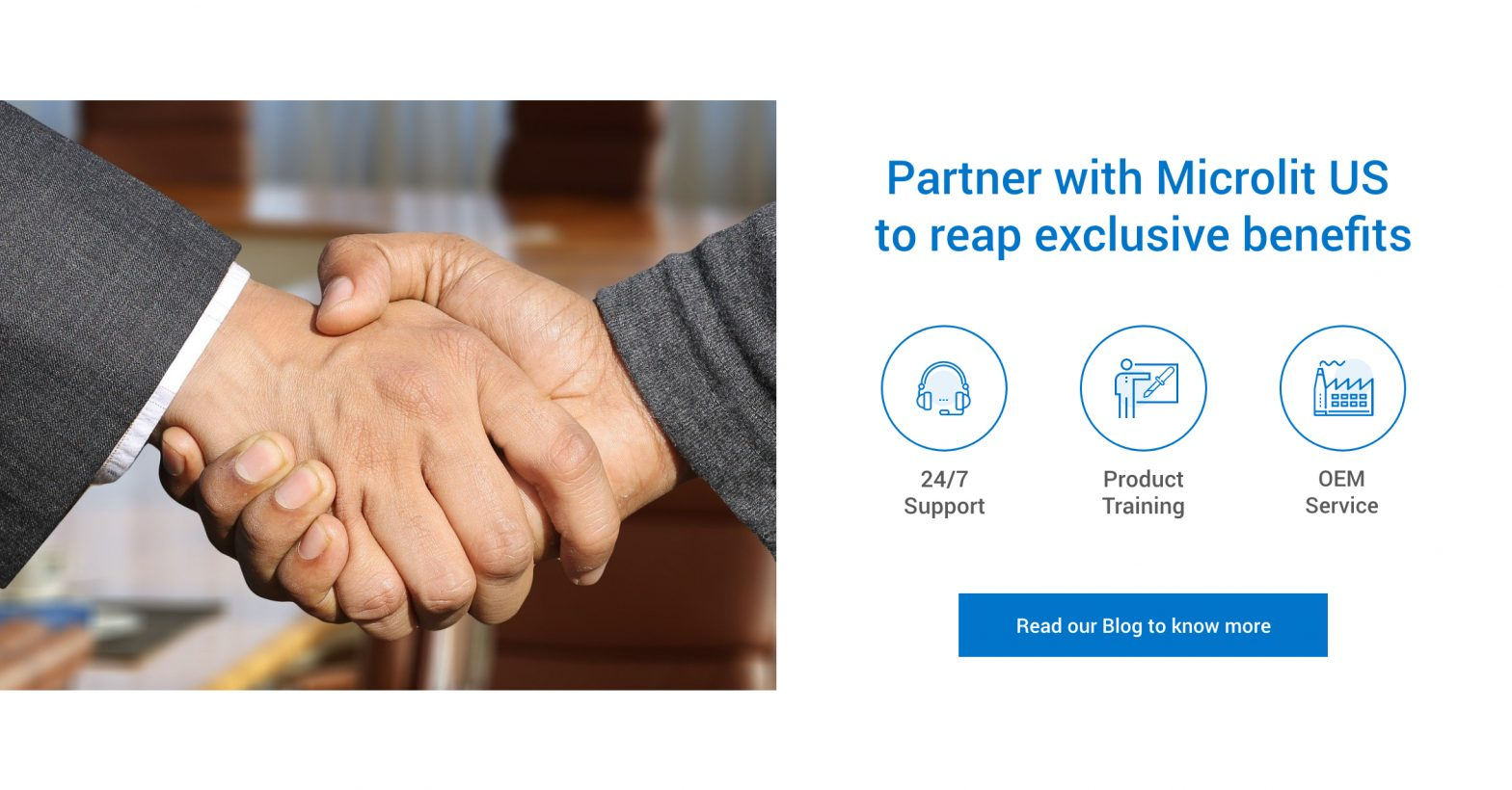 Partner with Microlit