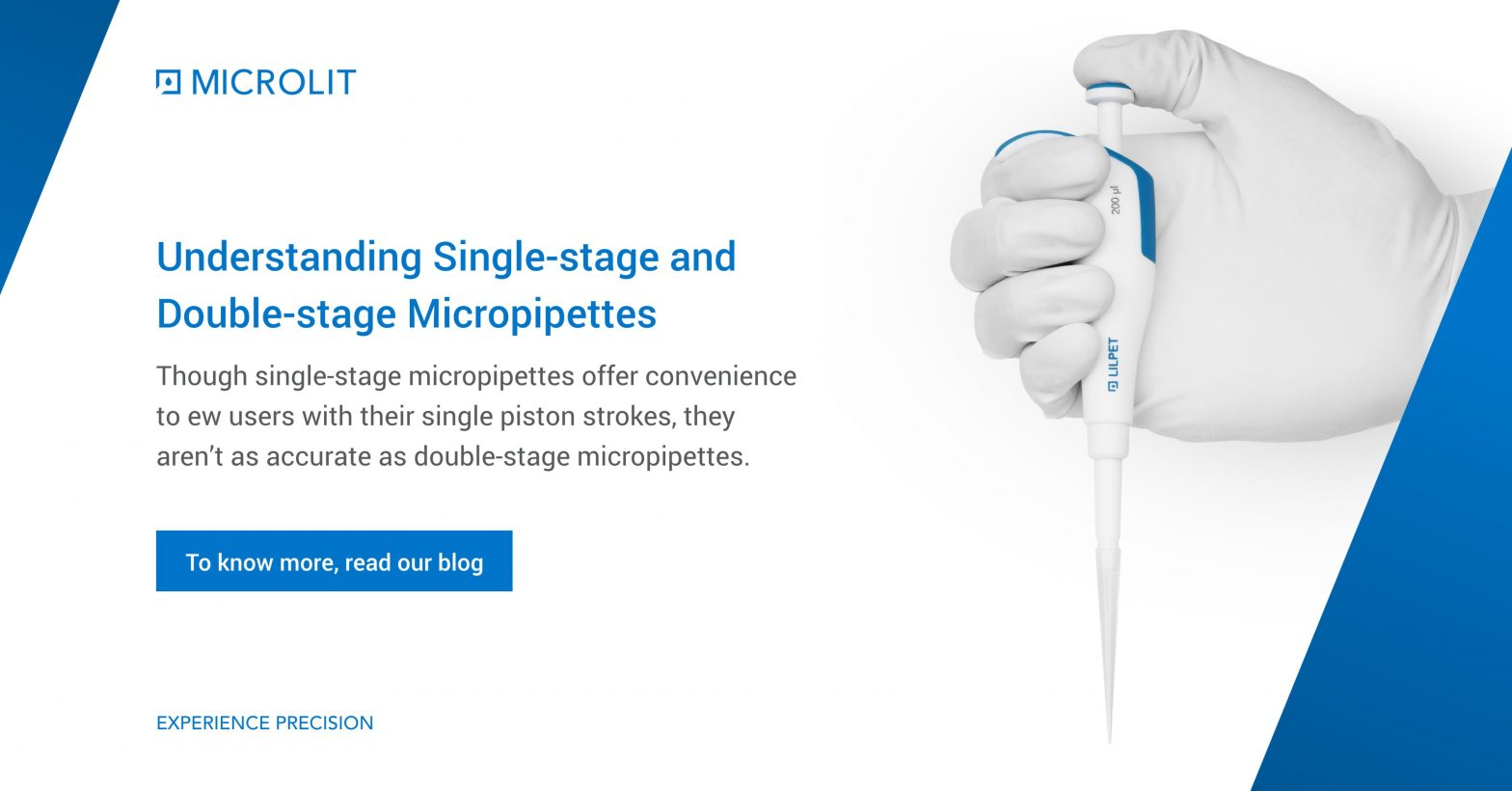 Single and Two Stage Micropipette