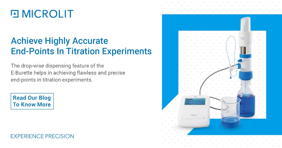 Drop Wise Dispensing Essential for Accurate Titrations