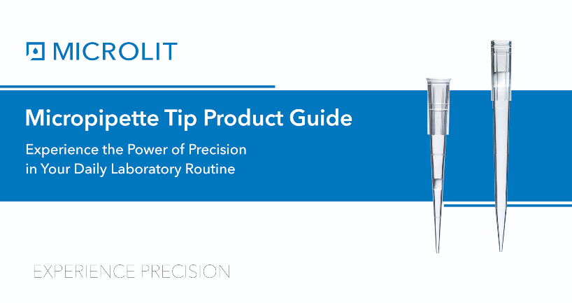 Micropipette Tip Product Guide