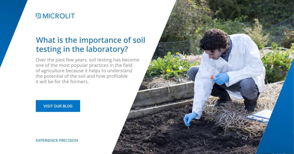 What is the importance of soil testing in the laboratory 1