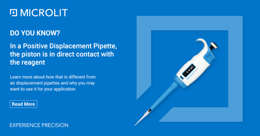 difference between air displacement and positive displacement pipettes